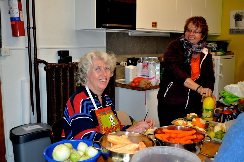 Souper de soutien 22.11.2013 - 01 Joke et Marthe