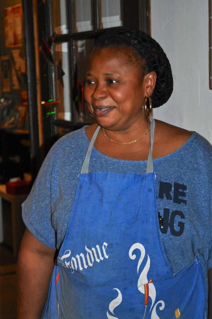 Souper de soutien 22.11.2013 - Fatou Camara remerciée pour son repas